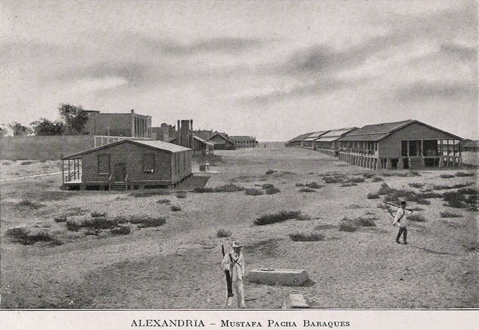 Alexandria In Egypt Photographed In The 1880s 1940s