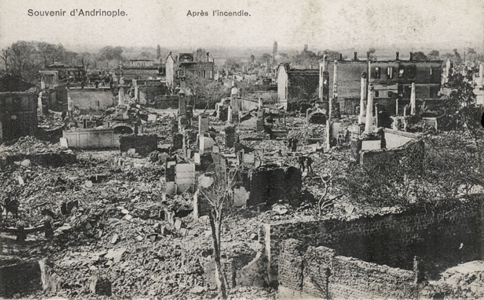 The fire zone post the big fire of 1903