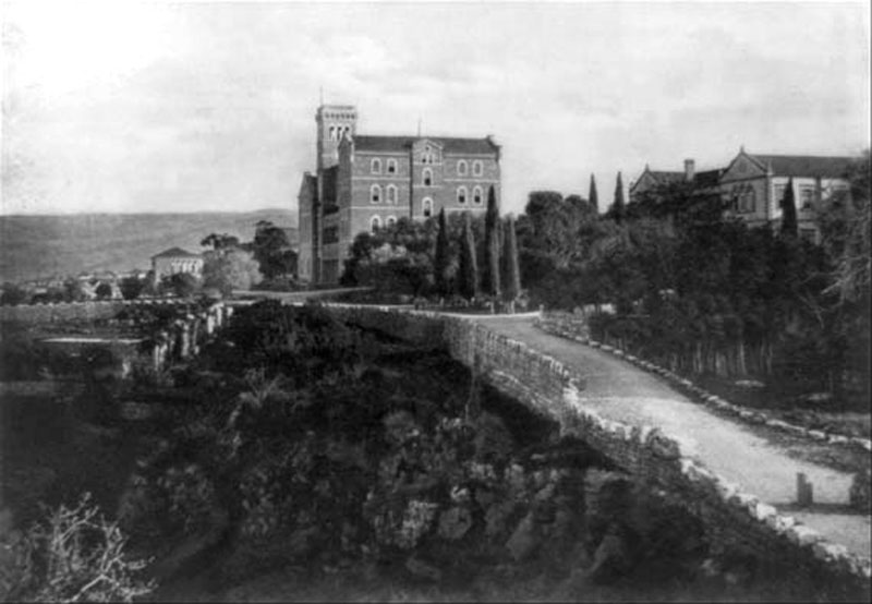 The American College of Beirut photographed in 1921