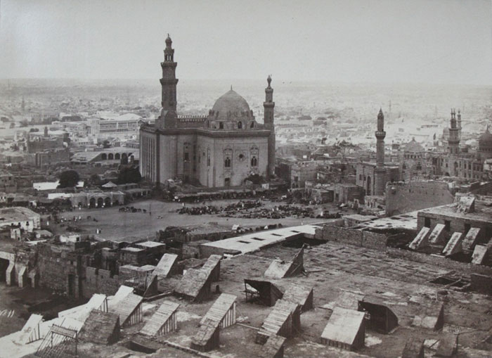Cairo citadel photographed by Francis Frith, probably 1857