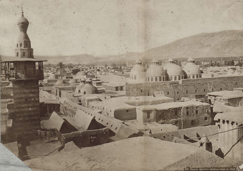 Christian quarter of the city, c. 1860