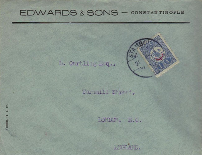 Edwards & Sons - 1915