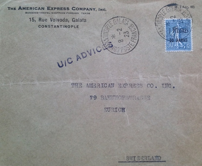 American Express Company - 1923