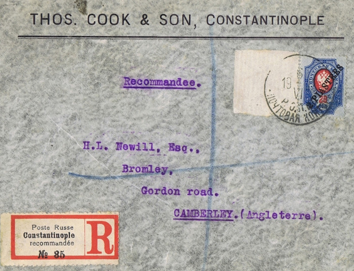 Thos. Cook & Son - 1912