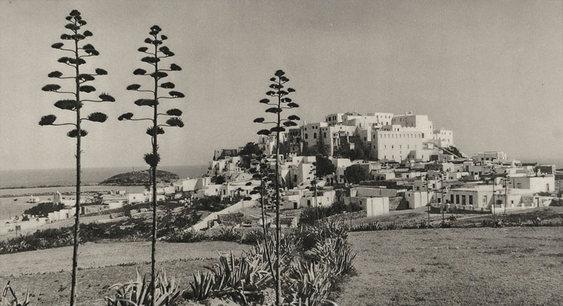 1937, Castro of Naxos viewed from inland