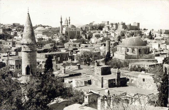 Rhodes, Panorama Old City, 1958