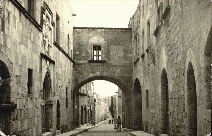 Rhodes, Street of the Knights, 1960s