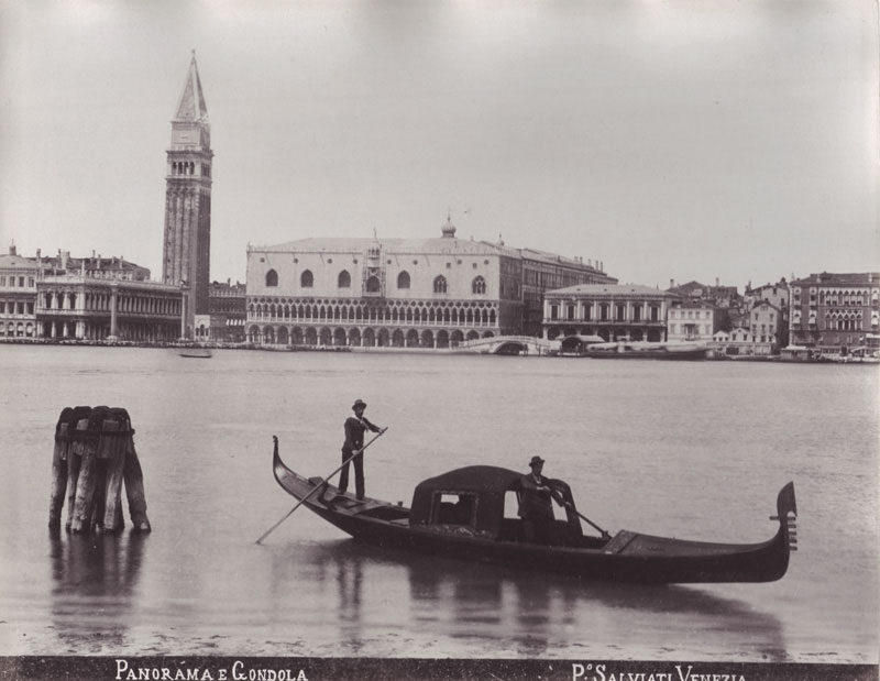 c. 1870s, The City of Venice, phot. Salviati