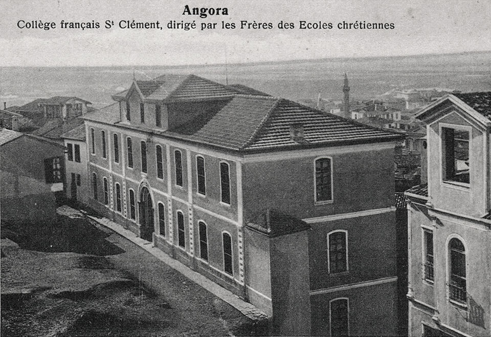 The former French school of Ankara, one of many run by Christian orders across the Levant both for their own community and for the various minority populations of the Empire