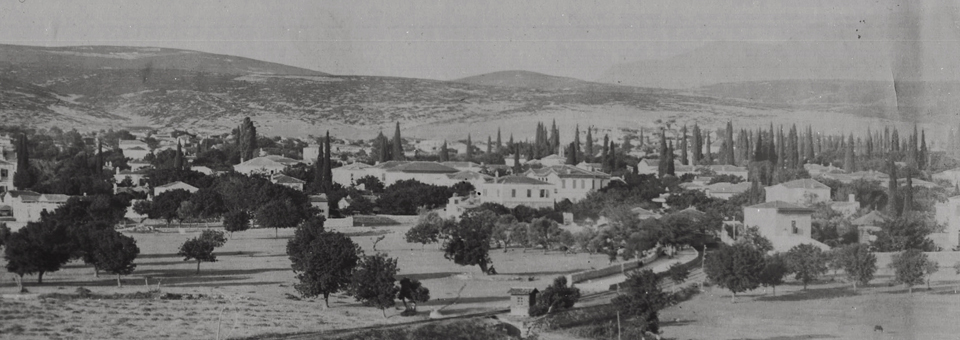 A turn of the century view of Boudjah village